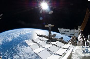 Imagen 1. Imágenes desde el exterior del planeta (ISS). ©European Space Agency