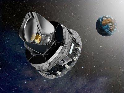 Vista del satélite Planck