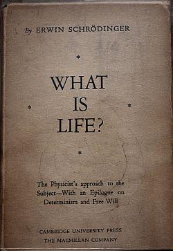 Portada del libro de Schrödinger