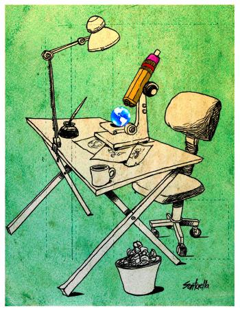 El arte de la caricatura. Luis Franco Santaella Cruz 2015.