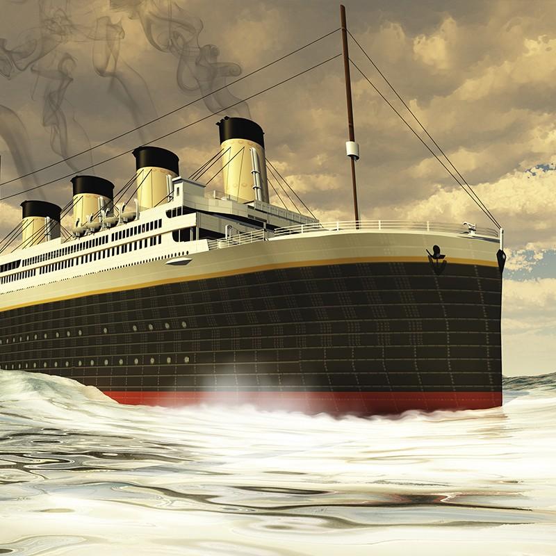 el titanic se hunde revista c2. Black Bedroom Furniture Sets. Home Design Ideas