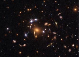 Figura 4. Quásar, lentes gravitacionales. SSDS