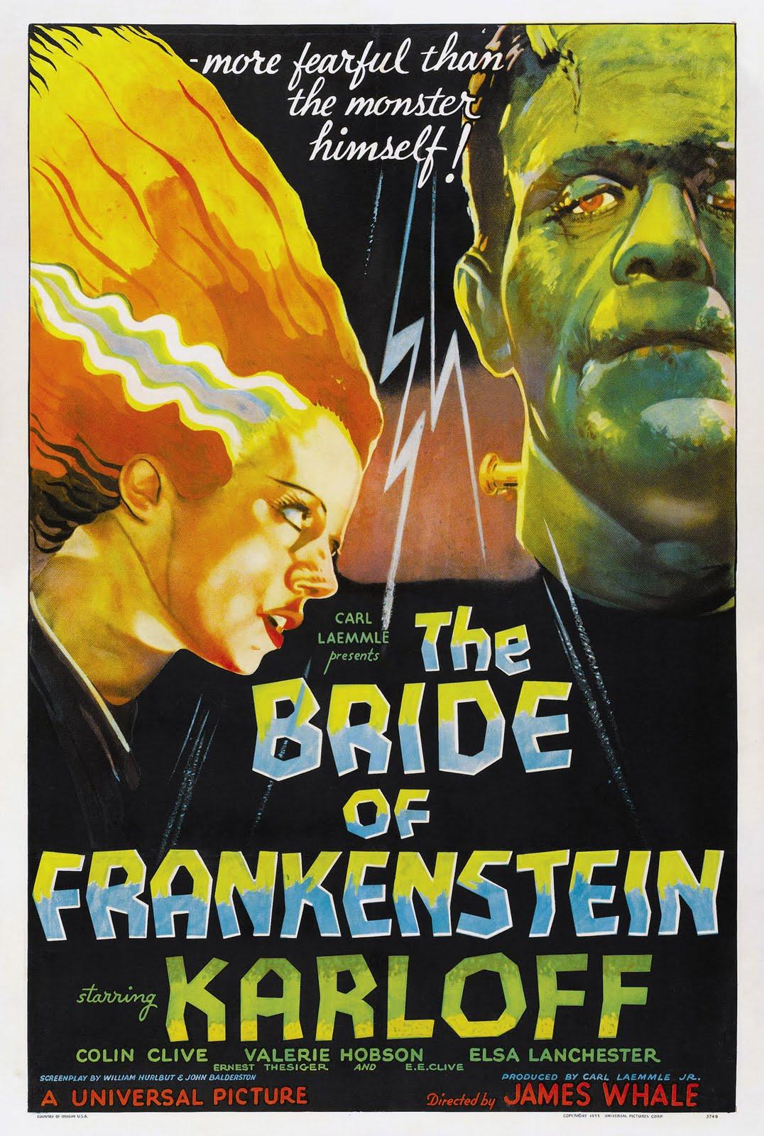 La novia de Frankenstein 1935