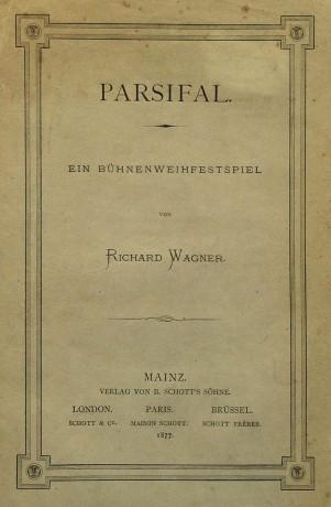 Parsifal, bautizado como un Bühnenweihfestspiel (Festival Escénico Sacro)
