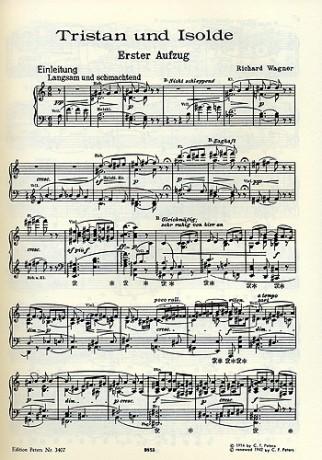 Tristan und Isolde, esbozado en 1854 y completado en 1859.
