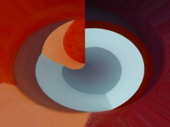 Super Nova, técnica mixta 30 x 40 cms 2015 (Colección privada)