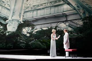 Escena de Harry Kupferde Der Rosenkavalier, Salzburgo 2013