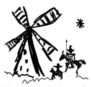 (Figura: El Quijote. Dmitrii Panfilov)