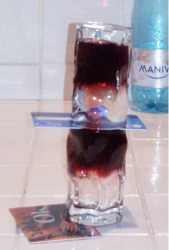 Figura 7. El agua y el intercambio de vino.