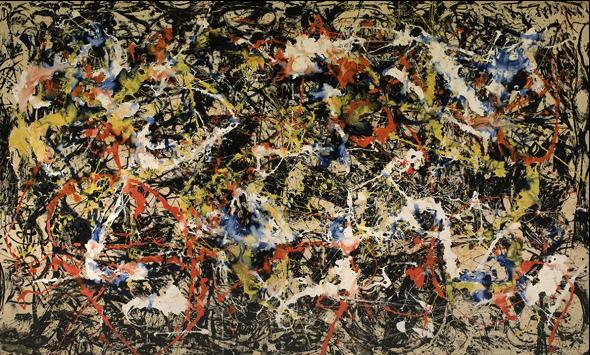 Figura1. Pintura abstracta.