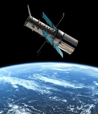 Imagen 2. Tomada por un telescopio espacial