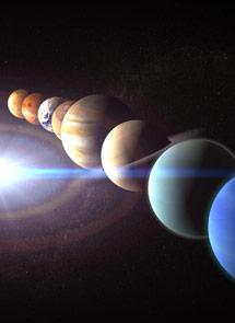 Todos los planetas estaban en línea...