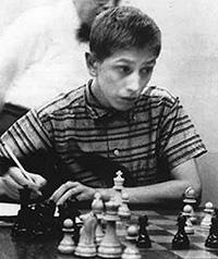 Bobby Fischer, nacido en Chicago, Illinois en 1943 tenía un coeficiente intelectual igual al de Albert Einstein