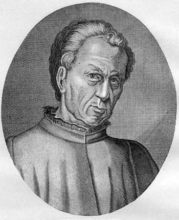 Gian Francesco Poggio Bracciolini, humanista italiano.