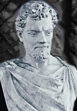 Tito Lucrecio Caro (99 a. C. - 55 a. C.), poeta y filósofo romano.