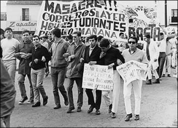 El movimiento del 68, representó el primer gran evento colectivo importante en la historia contemporánea de México