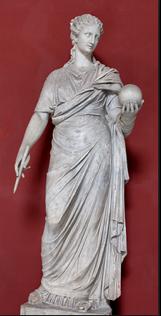 Figura 1. Urania (escultura romana).