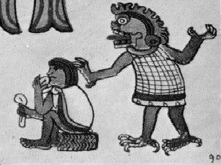 Teonanácatl en el Códice Azteca