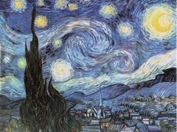 """Figura 9. """"La noche estrellada"""", de Vincent van Gogh."""