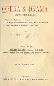 Ópera y Drama, escrito en Zürich a finales de 1850.