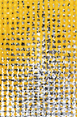 Evaporación. Técnica mixta. 30 x 50 cms, 2014