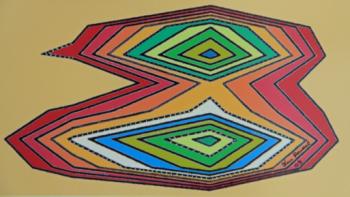 Pájaro, técnica mixta, 30 x 15 cms, 2007