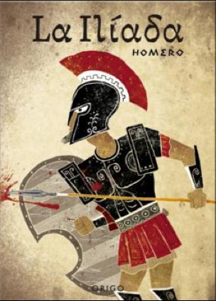 Figura 3. La Ilíada epopeya atribuida a Homero (aprox. S. VIII a.C.)