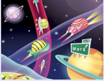 Figura 2. Autopistas espaciales