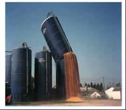 Figura 8. Rotura de un silo