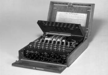 Juego de rotores de la máquina de escribir Enigma