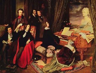 Liszt, Rossini, Paganini y Dumas