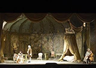 Escena de Max Reinhardt para Der Rosenkavalier, Viena 1920.