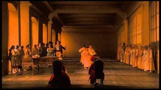 Escena de Le nozze di Figaro. Giorgio Strehler, París