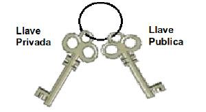 Figura 6. Llave pública y privada