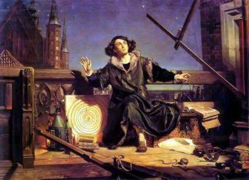 Figura 3. El astrónomo Copérnico (1473-1543) o conversaciones con Dios, por Matejko.