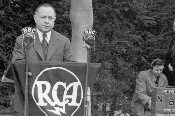 En enero de 1930, Sarnoff es nombrado presidente de RCA.