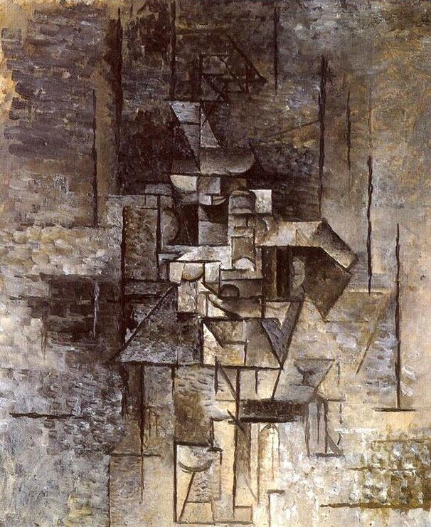 Guitariste (La mandoliniste), Picasso