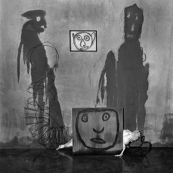 "Roger Ballen, Transformation from ""Asylum of the Birds"" (2004) ©"