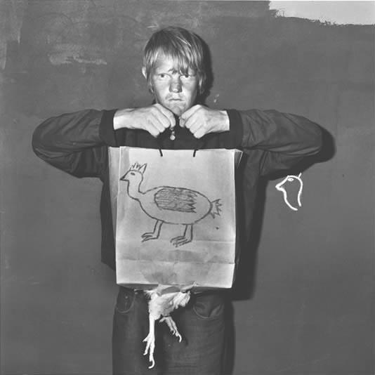 Roger Ballen, Broken bag, 2003