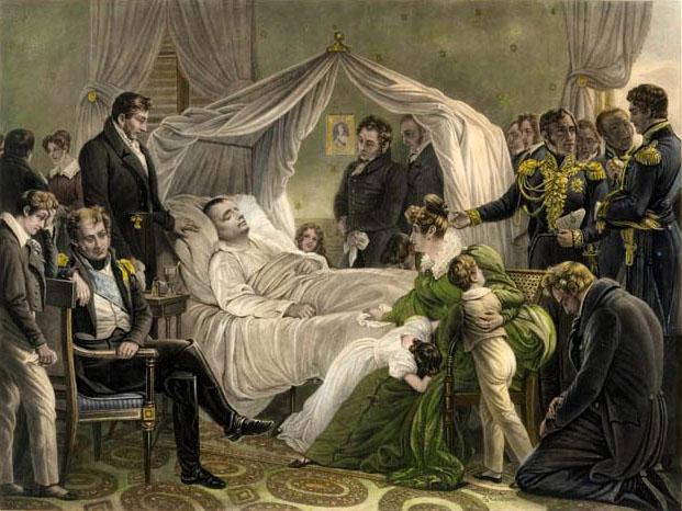 Figura 5. El hecho de que el cuerpo de Napoleón fuera encontrado muy bien conservado cuando fue trasladado el 15 de octubre de 1840, apoya la teoría del arsénico, ya que esta sustancia es un fuerte conservador.