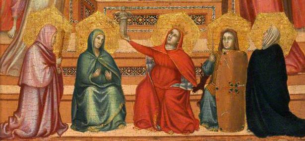 The Virgin and Child with Saints and Allegorical Figures (detalle). Colección Privada. Cortesía de Wildenstein & Co., Inc., New York