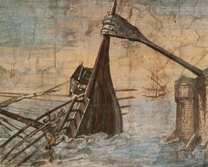 Figura 3. Garra de Arquímedes.